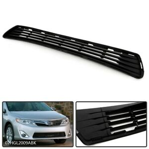 New Front Bumper Grille For 2012 2014 Toyota Camry L le xle Hybrid To1036128