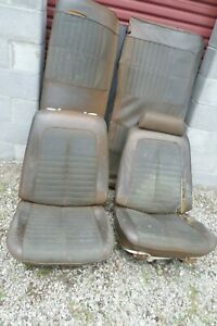 1968 72 Chevy Pontiac Olds Gm A Body Chevelle Gto Gs 442 Bucket Seats And Rear