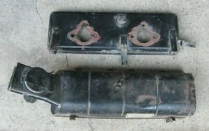 Triumph Tr7 Air Cleaner Filter Top Base Airbox Stromberg 175 Cd2 Tr 7 Wedge