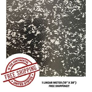 Hydrographic Film Water Transfer Hydro Dipping Dip Film Forged Carbon 2 Film 1m