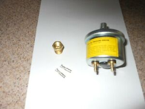 Equus 6832 9832 Same Electric Oil Pressure Sender With Adapter Wire Terminals