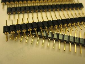 15 Pcs Machine Pin Header Male To Male 18pin Round Usa Seller