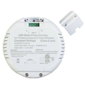 24v 60w 2 5a Power Supply Driver Not Dimmable For Led Light Clearance As is