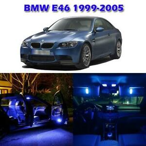 7 Error Free Blue Led Interior Light Lamp Bulb Gauge Dash Light For Bmw E46