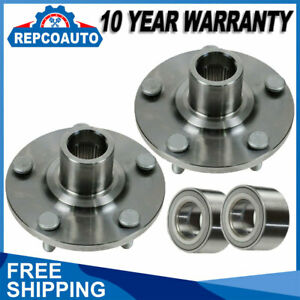 Set Of 2 Front Wheel Hub Bearing Assembly Left Right Fits Toyota Lexus Models