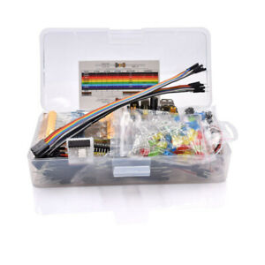 10x electronics Component Basic Starter Kit With 830 Tie points Breadboard