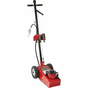 Strongway 22 Ton Quick Lift Air Hydraulic Service Floor Jack
