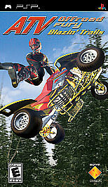 ATV Offroad Fury: Blazin' Trails (Sony PSP  2005) - Complete!