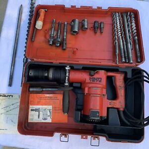 Hilti Te 72 Rotary Hammer Drill With Bits Chucks Adaptors And Case