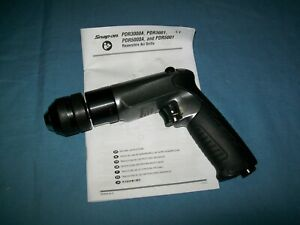 New Snap On Pdr3001gm 3 8 Capacity Micro Reversible Air Drill 2500 Rpm Max