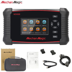 Mechanmagic Md698 Obd2 Car Diagnostic Scan Tool Code Reader Scanner Full Systems