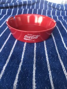 Vintage Coca Cola ashtray made in USA New Old Stock