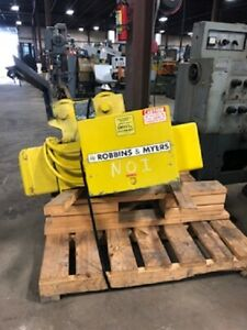 Preowned Robinson Myers 3 Ton Wire Cable Hoist