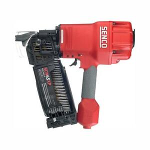 Senco Air Nailer 70 Psi 3 1 2 In Coil Type Fast Cycle Time High Load Capacity