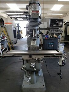 Bridgeport Series I Mill With Sino Sds6 2v Dro Power Feed Table One shot Lube