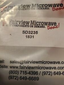 Fairview Microwave Inner Dc Block From 0 007 Mhz To 23 Ghz With Sma Connector