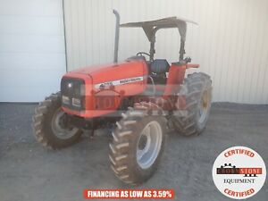 1998 Massey Ferguson 4255 Farm Tractor Canopy 4x4 3 Point 95 Hp Perkins Diesel