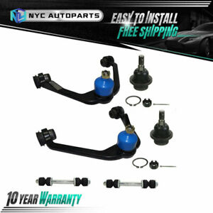 Front Upper Control Arm Suspension Kit 6pc For Ford Expedition F 150 F 250 2wd