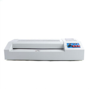 110v 600w 13in A3 A4 Hot Cold Film Laminating Laminator Machine Home Commercial
