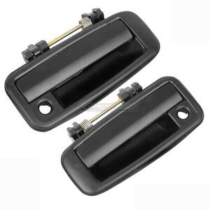 Pair Exterior Front Left Right Driver Lh Rh Door Handle For Toyota Corolla 88 92
