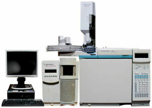 Agilent 6890n Gc With 5975 Inert Performance Turbo Msd g3172a And 7683b Als