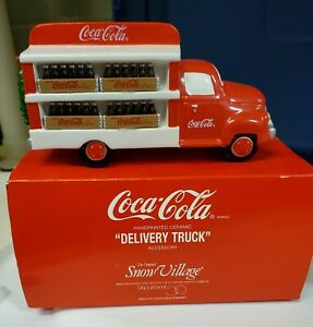 Dept. 56 Coca Cola Delivery Truck-Snow Village