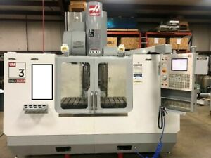 Used 2004 Haas Vm 3 Mold Making Cnc Vertical Machining Center Mill 30hp 12k Rpm