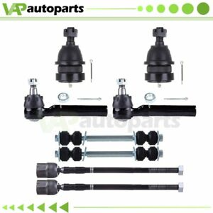 Front Ball Joint Tie Rod Ends 8pcs Suspension Kit For 1994 2004 Ford Mustang