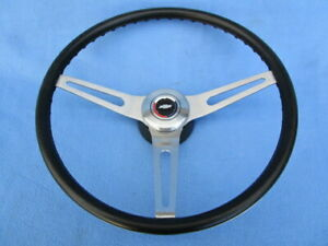 1969 70 Chevrolet Chevelle Camaro Steering Wheel Black Comfort Grip Original