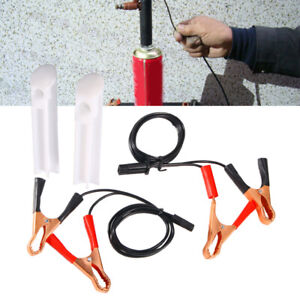 Car Vehicles Fuel Injector Flush Cleaner Adapter Kit Universal Cleaning Tool Usa