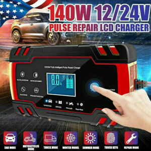 8a Automatic Car Battery Charger Jump Starter Pulse Repair 12v 24v Agm Gel Z4n2