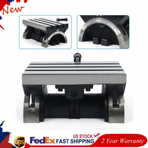 Adjustable Tilting Table Swivel Angle Plate Heavy Duty For Milling Machine 12mm