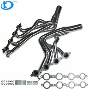 Long Tube Stainless Racing Exhaust Headers Ls1 For 98 02 Chevrolet Camaro 5 7l
