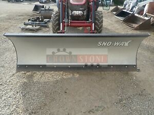Sno way 102 Hydraulic Angle Snow Blade For Case ih Tractors