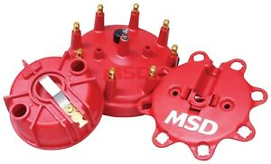 Msd Ignition 84085 Distributor Cap And Rotor Kit Fits 93 97 Ford F 150 250 350