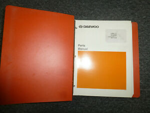 Doosan Daewoo S140lc v Excavator Parts Catalog Manual