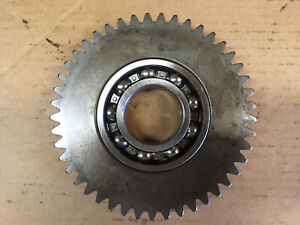 45 Tooth Idler Gear And New Bearing For Galfre Frd Rhino Dm7 Dm9 Disc Mowers