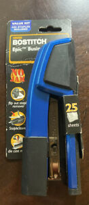 Stanley Bostitch Epic Business Stapler In Blue 420 Staples Included New