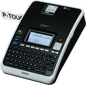 Brother P touch Pt 2730 Thermal Printer Pc Connectable Label Maker Refurbished