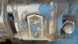 Ford 2000 3000 4000 Ford Tractor 1965 68 Power Steering Pump