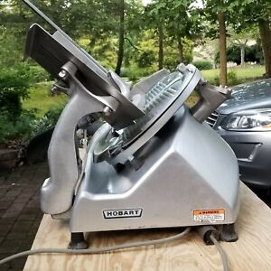 Hobart 2812 12 Manual Commercial Meat Deli Cheese Slicer