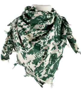 Shemagh 100% Cotton Military Tactical ACU Scarf Face Covering 42 inches $9.99