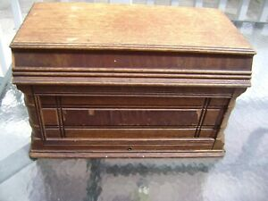 Wheeler Wilson Coffin Top For Treadle Sewing Machine