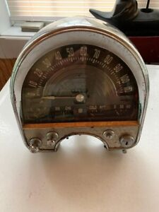 1948 Cadillac Series 75 Speedometer Instrument Cluster Gauges Switches