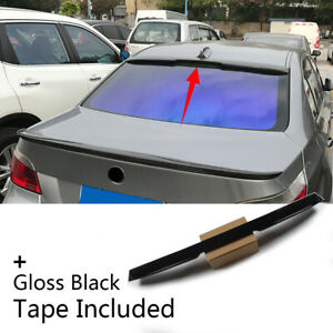 Fit For 2004 2010 Bmw 5 Series E60 Sedan Rear Tail Roof Window Lip Spoiler Wing