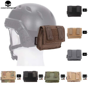 EMERSON FAST Helmet Removable Rear Pouch Tactical Duty Paintball Military Pouch $19.95