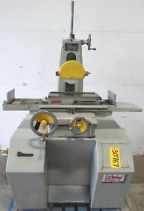 6 X 18 Harig Surface Grinder No Super 618 Hand Chuck 1 Hp Low Price 3076