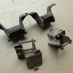 Oem Ford 1970 Mustang Boss 302 Engine Mount Brackets Used