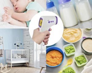 Non contact Body Forehead Ir Infrared Laser Digital Thermometer