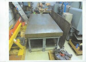 Challenge Machinery Layout Plate And Stand 48x96x6 Lot Listing Item 1154